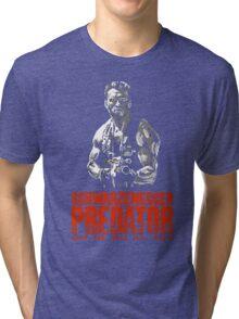 PREDATOR - NES CLASSIC GAME INTRO Tri-blend T-Shirt