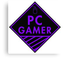 Pc Gaming (purple) Canvas Print