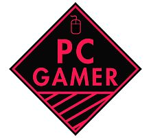 Pc Gaming (Red-Pink) Photographic Print