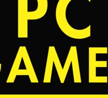 Pc Gaming (yellow) Sticker