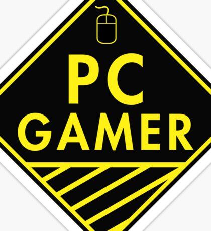 Pc Gaming (yellow) Sticker