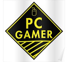 Pc Gaming (yellow) Poster