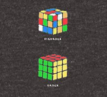Rubiks Cubes (white text) Unisex T-Shirt
