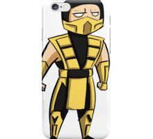 Scorpion (UMK3/MKT) iPhone Case/Skin