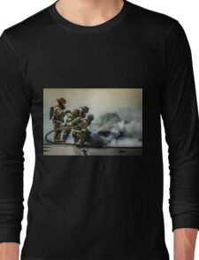 Fire Men Long Sleeve T-Shirt