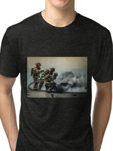 Fire Men Tri-blend T-Shirt