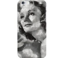 Andrea Leeds Hollywood Actress iPhone Case/Skin