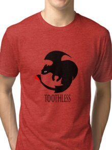 Toothless / Game of Thrones Tri-blend T-Shirt