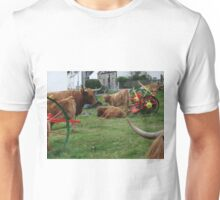 Highland Cows in Duirinish Unisex T-Shirt