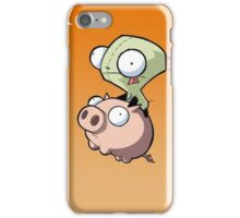 Flying Pig Zombie iPhone Case/Skin