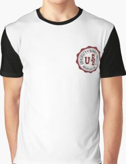 University of Bombs and Bullets Indian Head Graphic T-Shirt