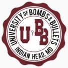 University of Bombs and Bullets Indian Head by jcmeyer