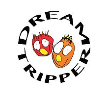 Dream Tripper with Crazy Face Photographic Print