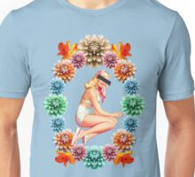 Flower Pin-Up *CENSORED* Unisex T-Shirt