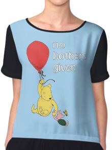 Winnie the Pooh + Piglet - No Bothers Given Chiffon Top
