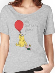 Winnie the Pooh + Piglet - No Bothers Given Women's Relaxed Fit T-Shirt