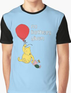 Winnie the Pooh + Piglet - No Bothers Given Graphic T-Shirt