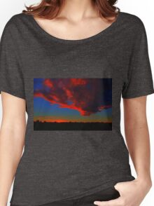 Red Cloud at Sunset Women's Relaxed Fit T-Shirt