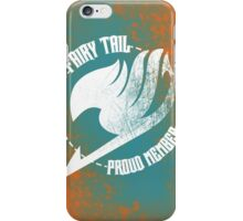 Fairy Tail - Proud Member iPhone Case/Skin