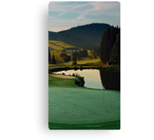 Summer morning at the golf club | landscape photography Canvas Print