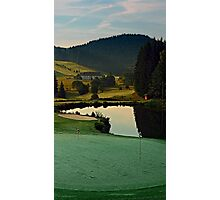 Summer morning at the golf club | landscape photography Photographic Print