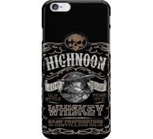 HIghNoon Whiskey iPhone Case/Skin
