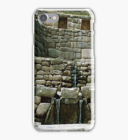 Tambomachay - The Inca Baths iPhone Case/Skin