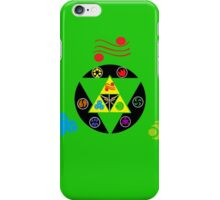 Zelda Triforce green iPhone Case/Skin
