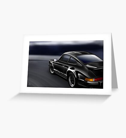 Poster artwork - Porsche 911 Carrera Greeting Card