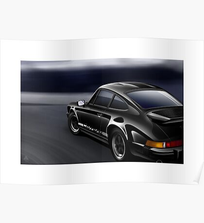 Poster artwork - Porsche 911 Carrera Poster