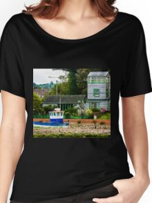 Harbour Master House - British Coast And Beach  Women's Relaxed Fit T-Shirt
