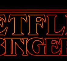 Netfllix Binger Sticker