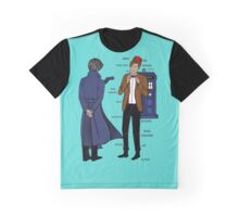 doctor and deteective Graphic T-Shirt