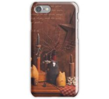 Proverbs 3:5 Toy Cats iPhone Case/Skin