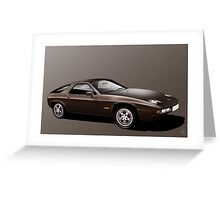 Poster artwork - Porsche 928  Greeting Card