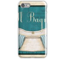 Italianate Tub 1 iPhone Case/Skin