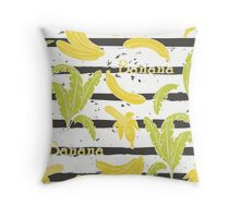 Bananas Throw Pillow