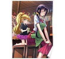 Amaama to Inazuma Poster
