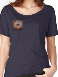 Luther's Rose - natural wood Women's Relaxed Fit T-Shirt