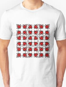 Smile - red Unisex T-Shirt