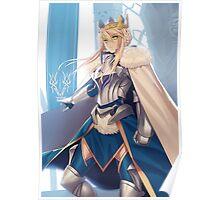 Lancer Artoria Pendragon Poster