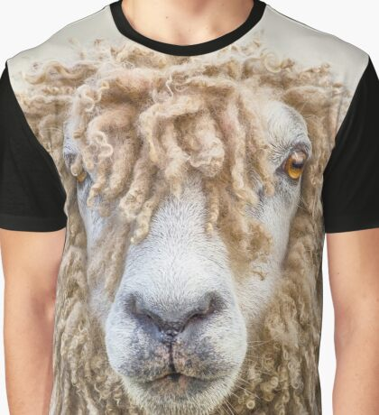 Leicester Longwool Sheep Graphic T-Shirt