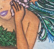 Mermaid Shell Phone Sticker