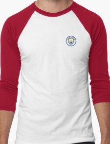 Manchester City Fc Men's Baseball ¾ T-Shirt