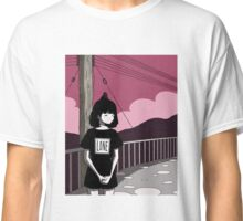 """""""An afternoon walk by the isolated poles"""" Classic T-Shirt"""