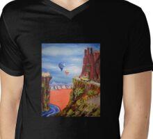 New Mexico Mountain Drive Mens V-Neck T-Shirt