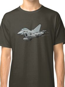 Cartoon Fighter Plane Classic T-Shirt