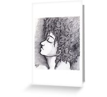 Sing me the blues Greeting Card