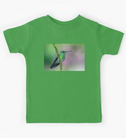 Green-Crowned Brilliant Hummingbird - Costa Rica Kids Tee