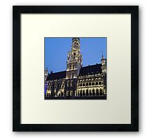 Grande Place Framed Print